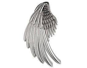 3D print model 20mm Single Wing Slider Pendant