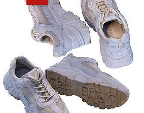 3D model White sneakers 120