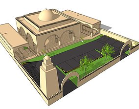muslim 3D mosque