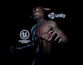 3D asset Demon Screamer