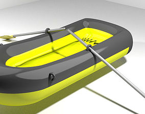 3D Inflatable row boat - Type 1