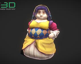 3D model Fantasy RPG Maid