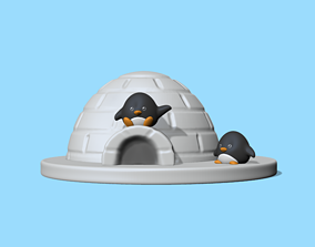 sculpture Igloo 3D printable model