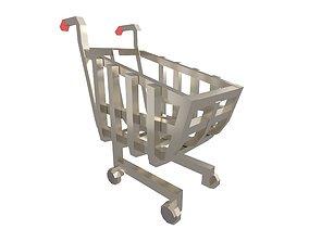 3D model Shopping Cart v1 005