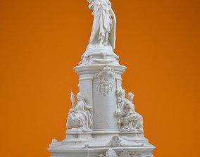 Place de la Republique in Paris 3D print model