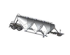 Pneumatic Tank 750cuft 3D model
