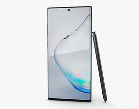 Samsung Galaxy Note10 Plus Aura Black 3D