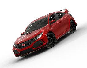 3D model 2020 Honda Civic Type R