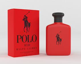 3D model Polo Red Cologne for Men