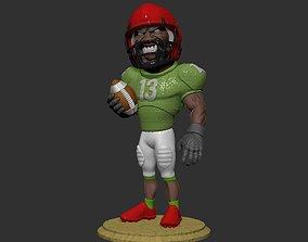 football player 3D print model