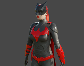 Batwoman costume 3D printable model