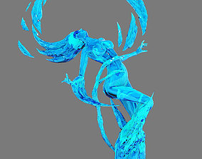 Ice and snow - ice Carved 3D model other