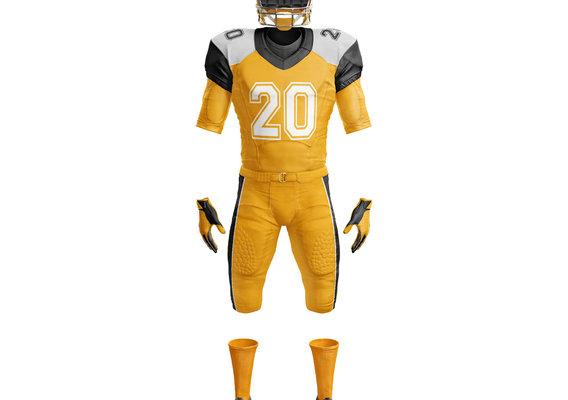 American Football uniform