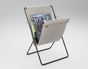 3D decoration Magazine Stand Ferm Living Herman
