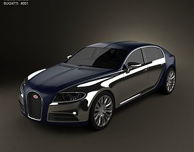 Bugatti 16C Galibier 2009 3D