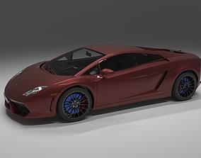 3D Lamborghini Gallardo tire