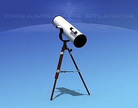 Reflector Telescope 12 inc 3D