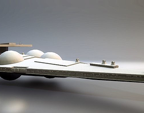 3D printable model Star wars Interdictor
