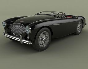 3D model Austin-Healey 100-4