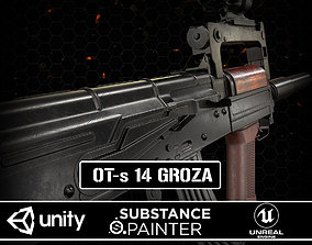3D asset game-ready OT-s 14 Groza