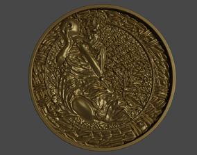 Maiden medallion from Resident Evil 2 3D print model