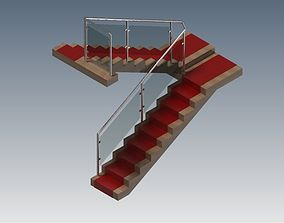 Indoor stairs 3D