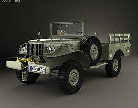 3D model Dodge WC-52 T214 1942