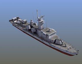 3D asset Goteborg Class Missile Boat