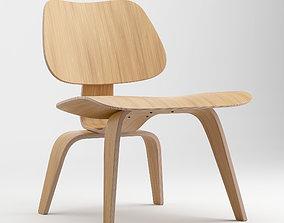 Eames Lounge Armchair 3D