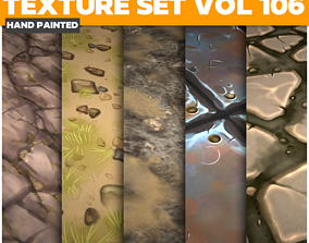 Stylized Vol 106 - Game PBR Textures 3D model