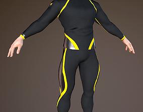 Sportsmen 3D asset
