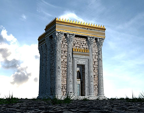 Herods Temple - Old Decrepit Version 3D model