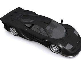 3D asset McLaren F1 GT