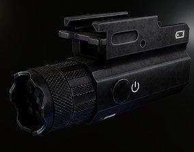 3D asset NcSTAR Blue Laser