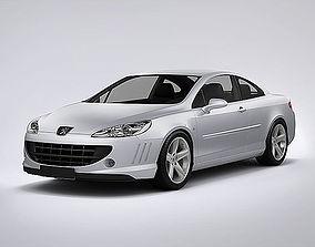 Peugeot 407 Coupe 2013 3D