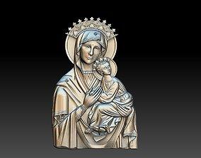 virgin mary orthodox 3D print model
