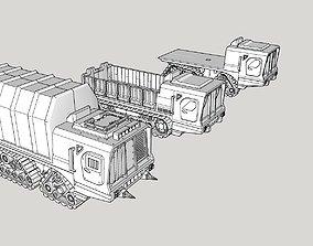 Large Utility Truck 3D print model