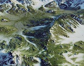 Green Hills Mountains 3D asset
