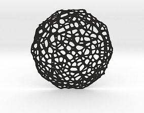 3D printable model Drink coaster - Voronoi No VII