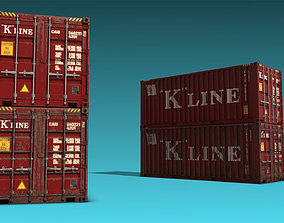 Shipping Container 09 3D model
