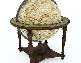 Decorative Globe 3D model
