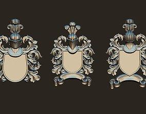 Medieval Blazers Set Exchangeable 3D printable model 3