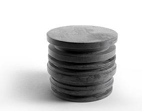 Cylinder Stool 3D model