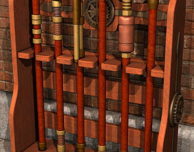 Steampunk Canes And Swords 3D
