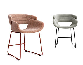 3D Bludot Racer dining chair and bar stool