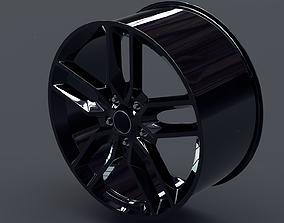 Automobile Rim 3D model