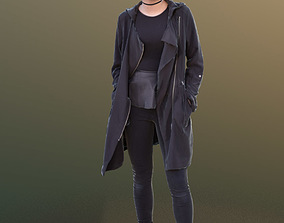 Laura 10441 - Standing Casual Woman 3D model