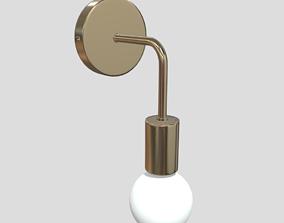 3D asset Wall Lamp 2