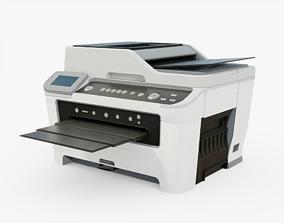 Printer Scanner Generic 3D asset realtime