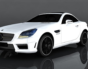 3D asset Mercedes Benz SLK55